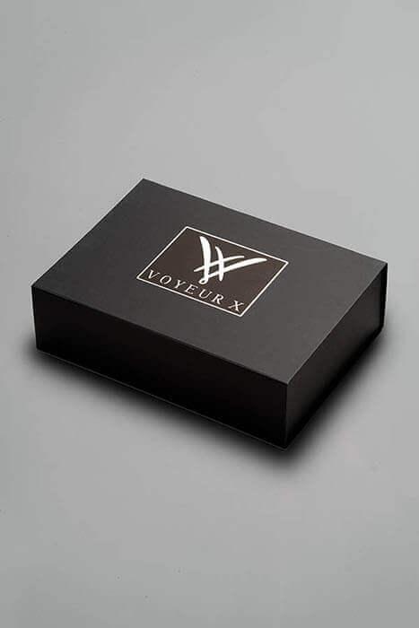 Giftbox voyeurx bewaardoos zwart cadeauverpakking